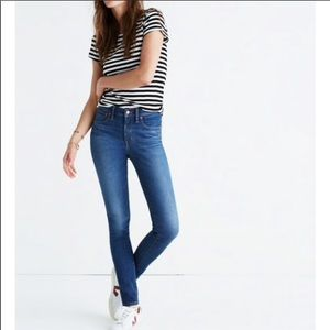 Madewell High Rise Skinny 'Patty Wash' Jeans